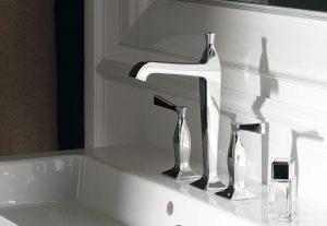 rubinetto elegante onde