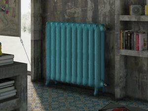 termosifone azzurro design