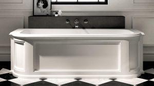 vasca stile classico esagonale