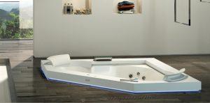 vasca da bagno idromassaggio jacuzzi
